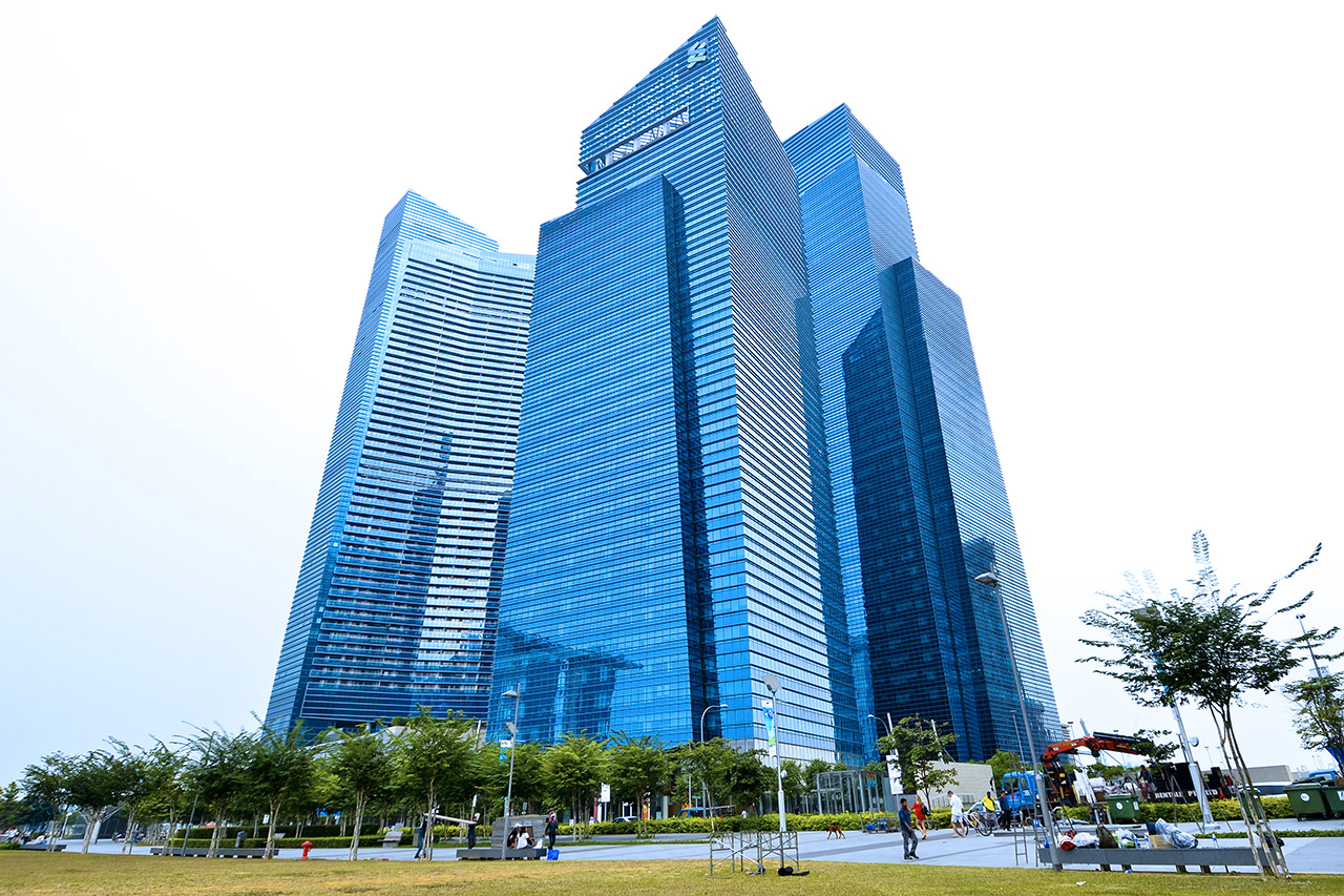 Marina Bay Financial Centre Tower 2 & 3, Marina Bay Link Mall