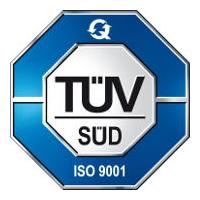 TUV SUD ISO 9001 Cert
