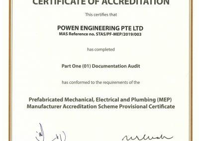 MEP Full Certificate